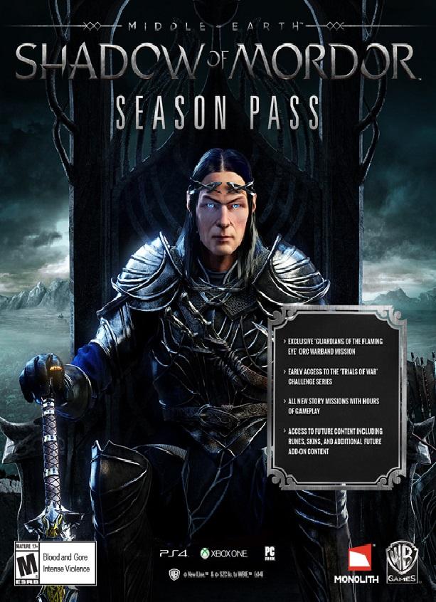 Middle-Earth: Shadow of Mordor Season Pass na PC
