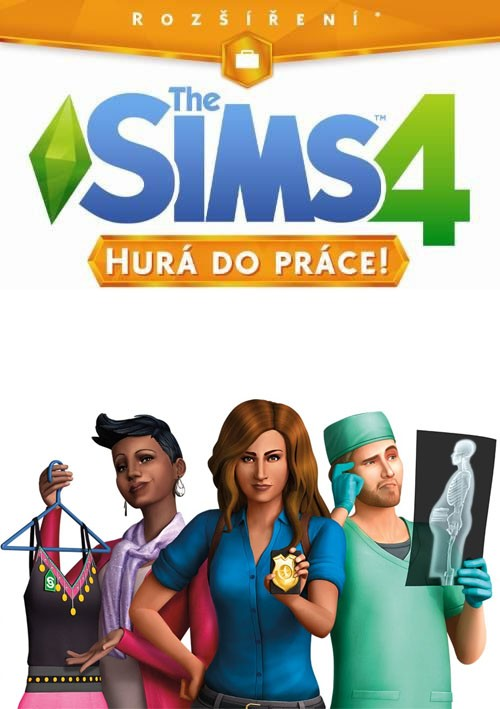 The Sims 4 Hurá do Práce na PC